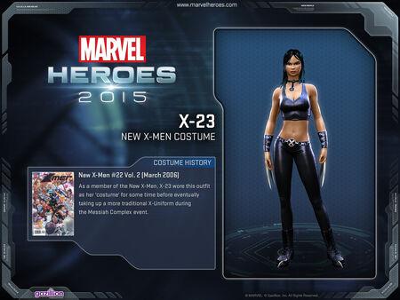 Costume x23 newXmen