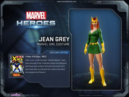 Costume jeangrey marvelgirl