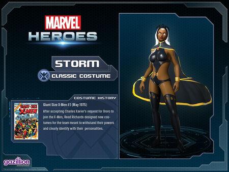 Costume storm classic