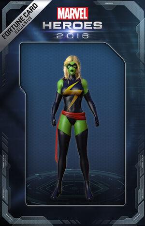 Costume CaptainMarvel Skrull
