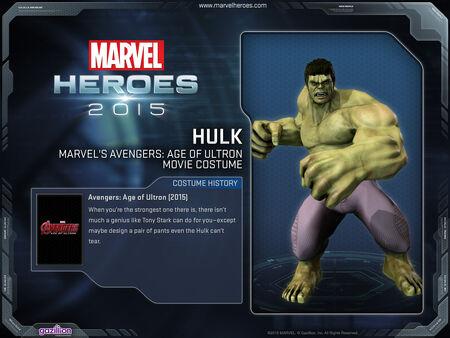 Costume hulk AoU