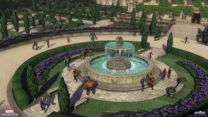 Xavier mansion social hub1