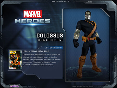Costume colossus ultimate