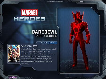 Costume daredevil earthx