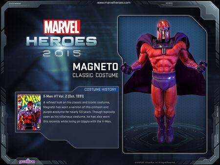 Costume Magneto classic