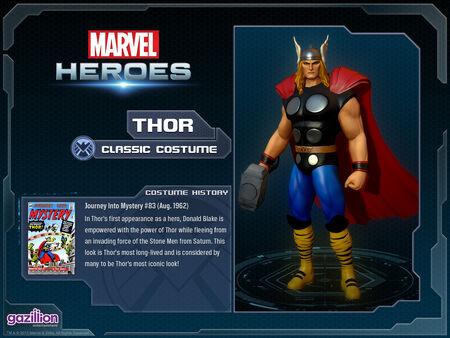Costume thor classic