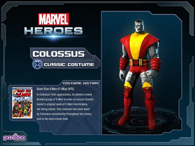 Costume colossus classic