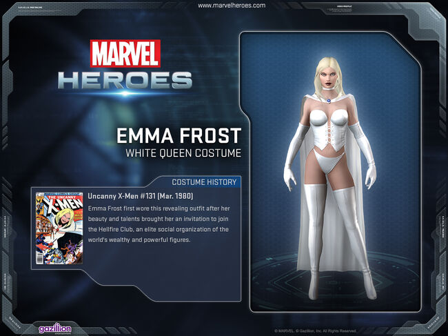 Costume emmafrost whitequeen