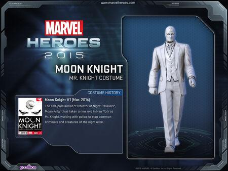 Costume moonknight mrknight