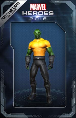 Costume LukeCage Skrull