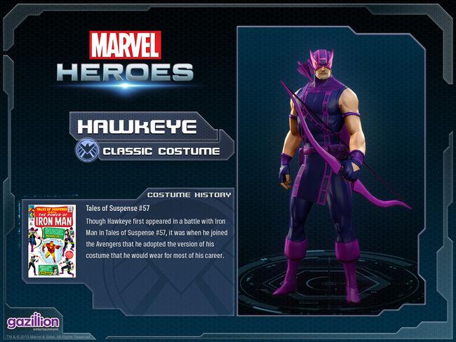 Costume hawkeye base