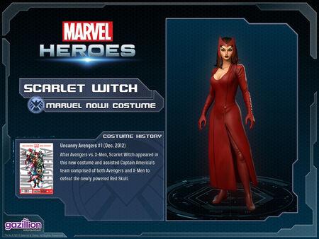 Costume scarletwitch marvelnow