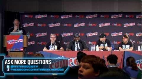 Marvel Heroes New York Comic-Con 2012 panel-0-1