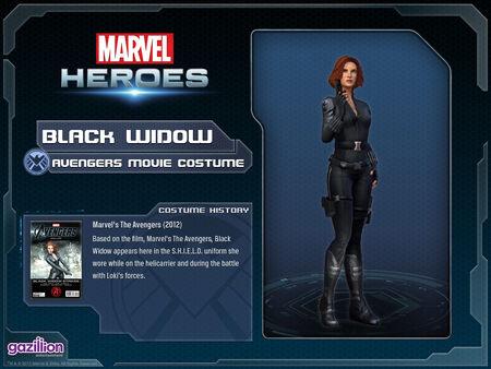Costume blackwidow movie
