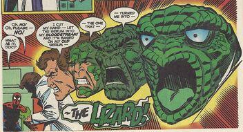 Lizard untold tales of spider man 9