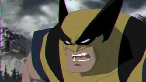 Hulk --vs-- Wolverine Animated Clip