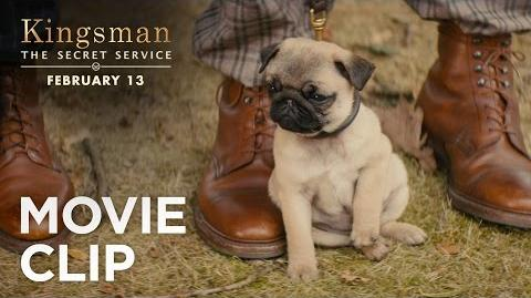 "Kingsman The Secret Service ""Puppy"" Clip HD 20th Century FOX"