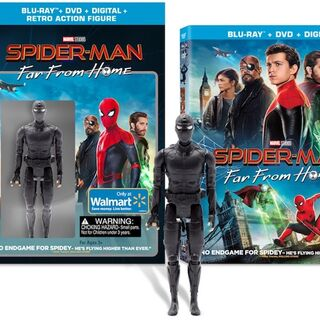 Walmart Exclusive Blu Ray.