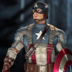 Captain America's second costume.