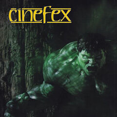 Cinefex Magazine Cover.