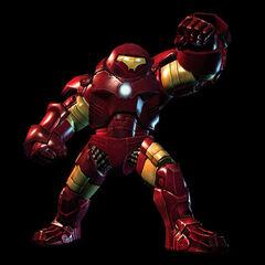 Iro Man Hulk Buster (playable with <a href=