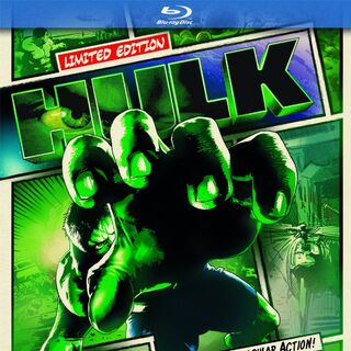 Hulk<br />Limited Edition UK Blu-ray