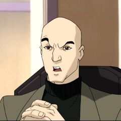 Xavier before being replaced by Mystique.