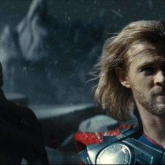 Thor and Loki in Jotunheim.
