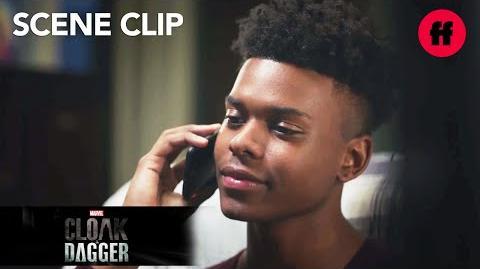 Marvel's Cloak & Dagger Season 1, Episode 7 Tyrone Calls Tandy & Billy Raps Freeform