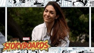 Natalia Cordova-Buckley & A Super Hero Workout Marvel's Storyboards