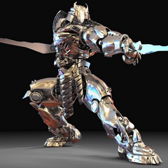 Concept render of the Silver Samurai