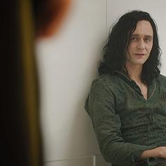 Loki, in prison, as <a href=