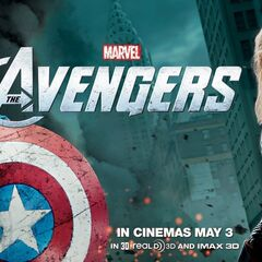Captain America and Thor Banner.
