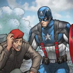Falsworth in the Captain America IOS game.