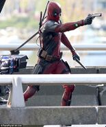 Deadpool Filming 11