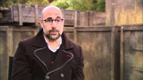 Stanley Tucci 'Captain America The First Avenger' Interview