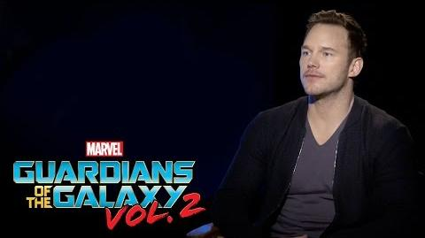 Chris Pratt on Marvel Studios' Guardians of the Galaxy Vol