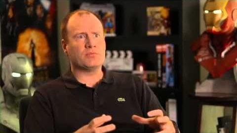 Iron Man 3 Set Interview Kevin Feige Producer - Part 1