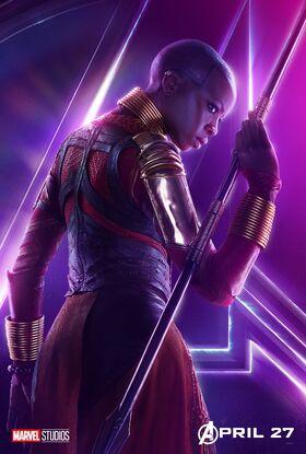 Okoye InfinityWar poster