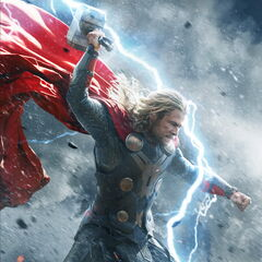 Character Poster of Thor.