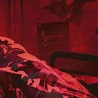 Barton Blaze in a hospital bed in Johnny's memory.