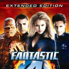 Fantastic 4 Extended Edition UK DVD