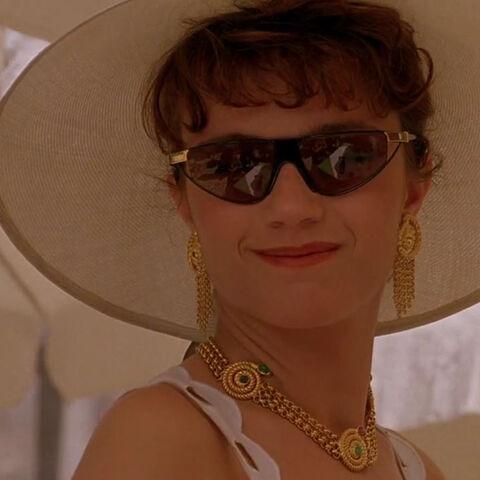 Valentina De Santis in her civilan clothes.