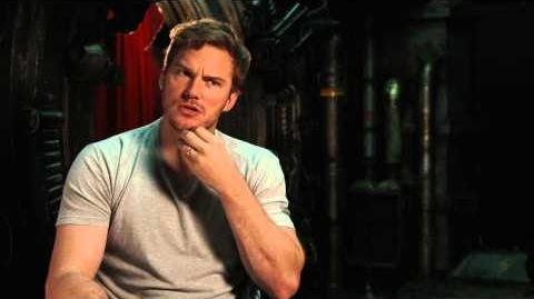 Marvel's Guardians of the Galaxy Chris Pratt Behind the Scenes Movie Interview