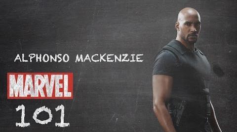 """Agent Alphonso """"Mack"""" Mackenzie - Marvel 101 – Marvel's Agents of S.H.I.E.L.D."""