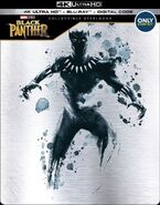 Black Panther Best Buy Exclusive Steelbook 4K Ultra Blu Ray