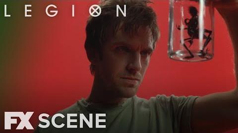 Legion Season 2 Ep. 7 Red Room Scene FX