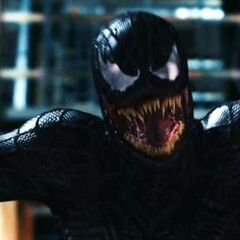 Venom lunges to attack his prey