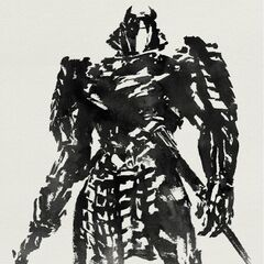 Teaser poster featuring the Silver Samurai.