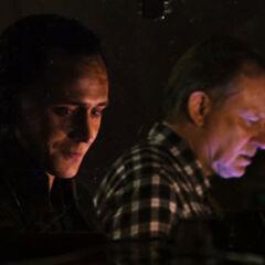 Selvig under the manipulation of Loki
